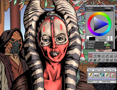 Shaak Ti Color Step 4