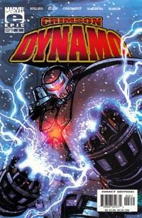 Crimson Dynamo #3 Cover