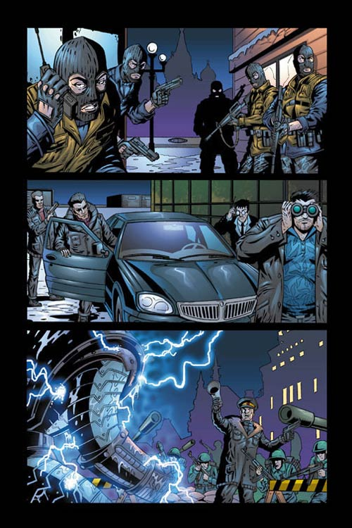 Crymson Dynamo 6, page 1, colors