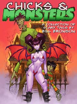 Cover Art to Chicks and Monsters 1