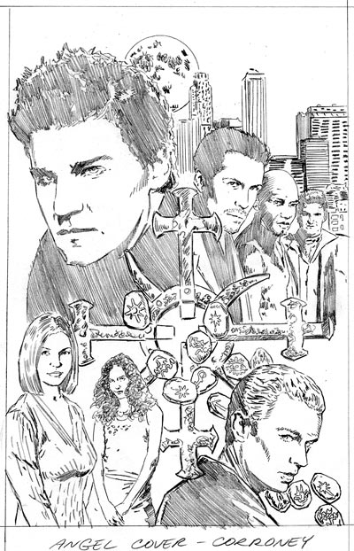 Angel: Spotlight Rough Cover