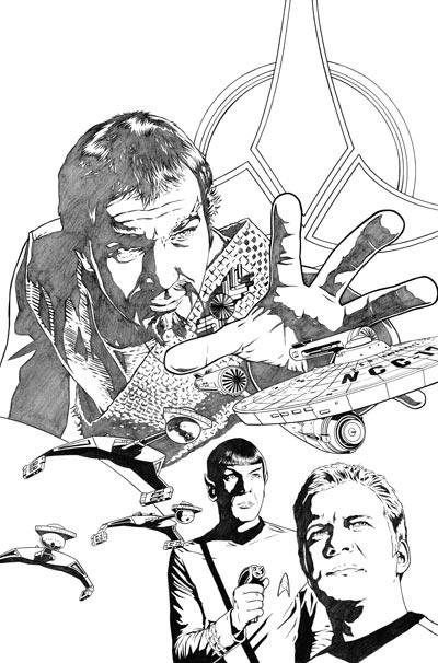 Klingons #1 Cover Pencils