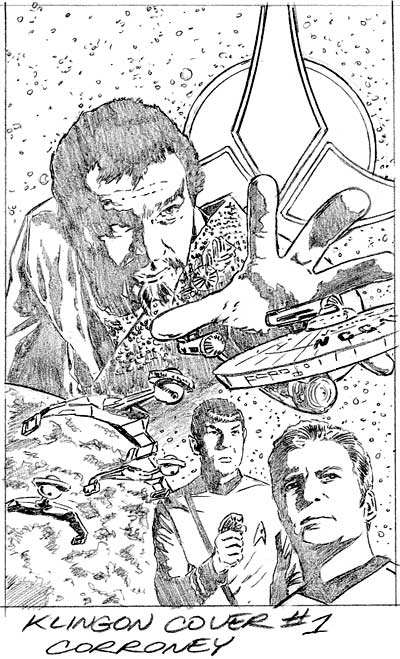 Klingons #1 Rough Cover