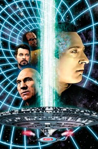 Star Trek: The Next Generation: The Space Between #5 Cover