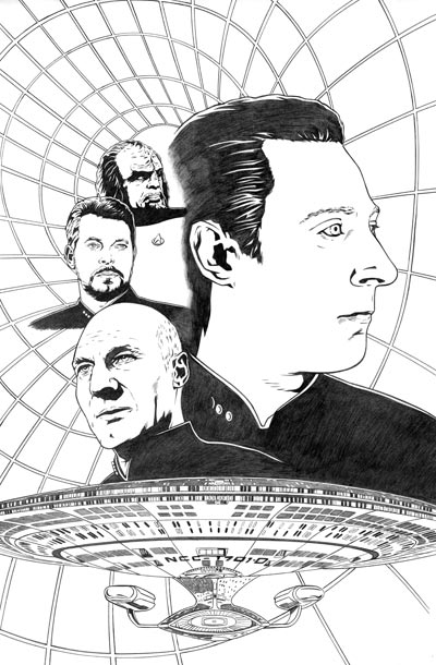 TNG #5 Cover Pencils