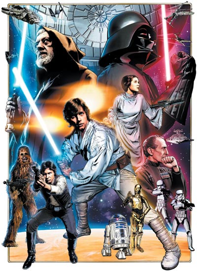 Star Wars: Celebration IV 30th Anniversary Limited Edition Color In Progess