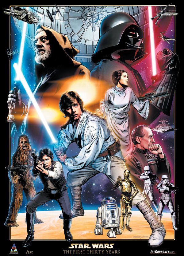 Star Wars: Celebration IV 30th Anniversary Limited Edition Print Final