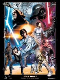 Star Wars: Celebration IV 30th Anniversary Limited Edition Print