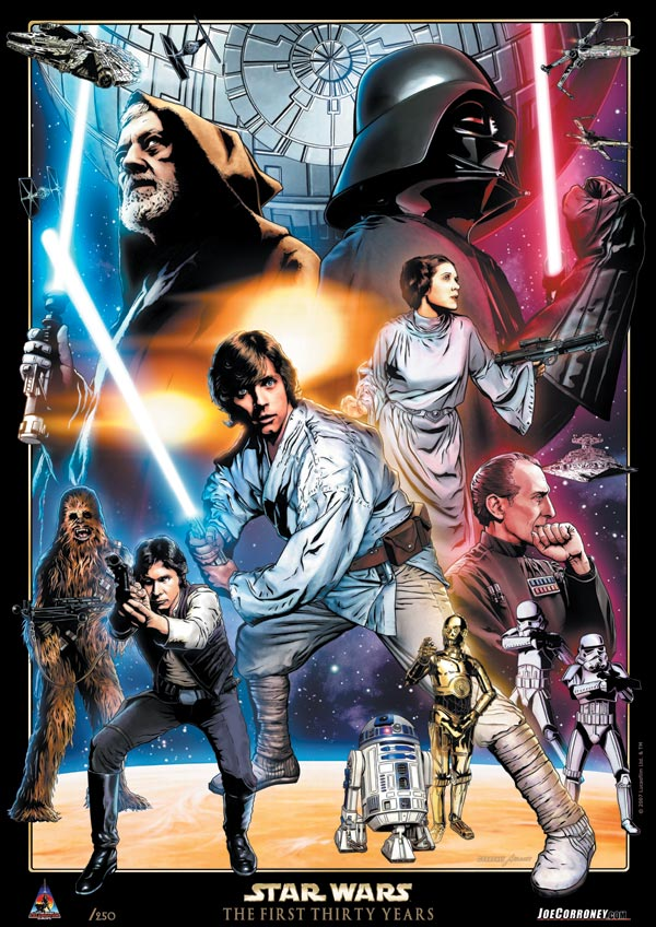 Star Wars: Celebration Europe 30th Anniversary Limited Edition Print Final