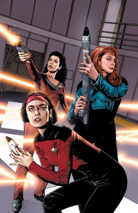 Star Trek Intelligence Gathering 4 Cover