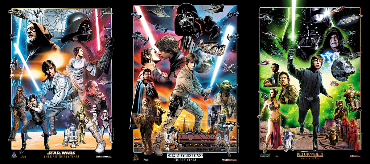 Star Wars Celebration Limited Edition Prints