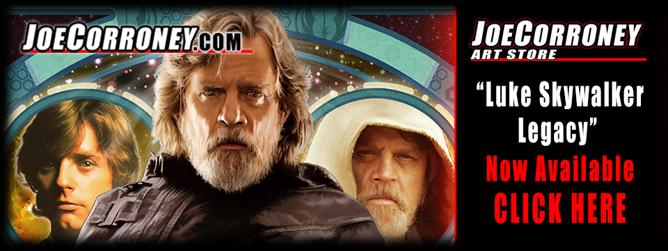Joe Corroney Star Wars Luke Skywalker Legacy