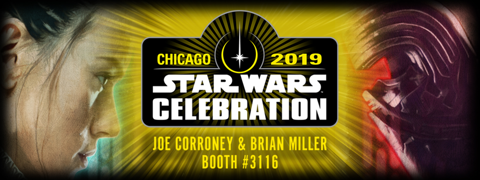 Joe Corroney and Brian Miller Star Wars Celebration Booth 3116