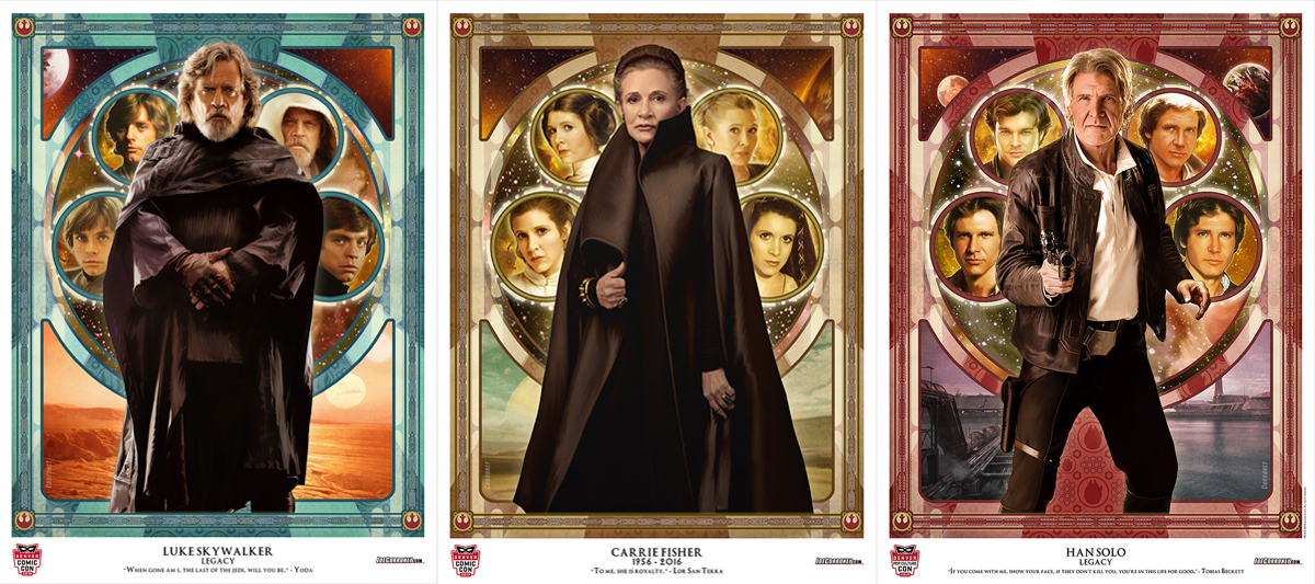 Star Wars Legacy Series Exclsuive Artwork