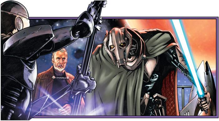 dessins et affiches star wars - Page 2 86GrievousVsMagnaDroid
